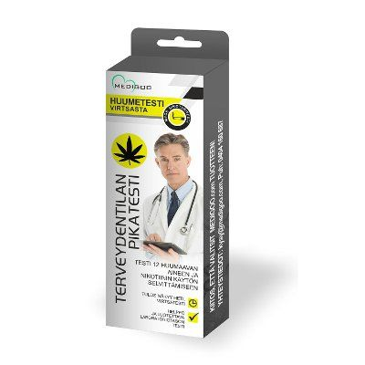 MediGoo Huumetesti ja nikotiini virtsasta 1 kpl