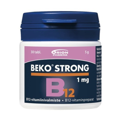 BEKO STRONG B12 1MG 30 TABL