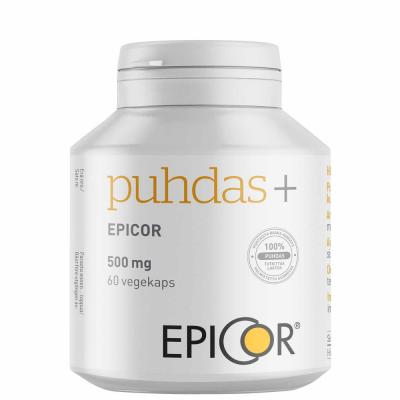 Puhdas+ Epicor 500 mg kaps 60 kpl