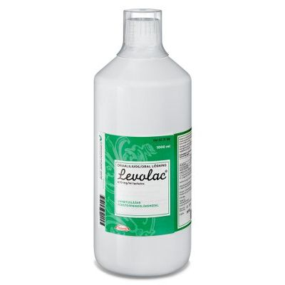 LEVOLAC 670 mg/ml oraaliliuos 1000 ml