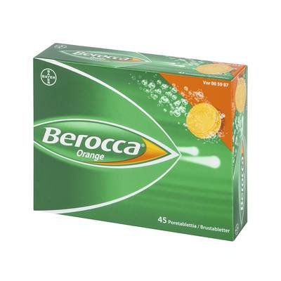 BEROCCA ORANGE poretabl 45 kpl