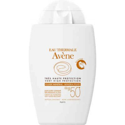 Avene Sun mineral fluid 50+ 40 ml