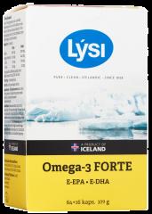 LYSI OMEGA-3 FORTE 80 KAPS