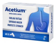 Acetium 100 mg kaps 60 kpl