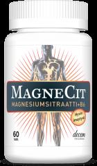MAGNECIT  MAGNESIUMSITRAATTI + B6-VITAMIINI 60 TABL